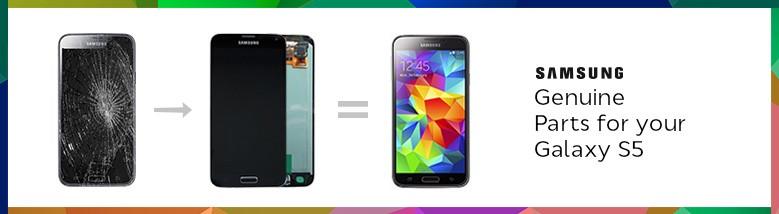 Partes originais para Samsung Galaxy S5